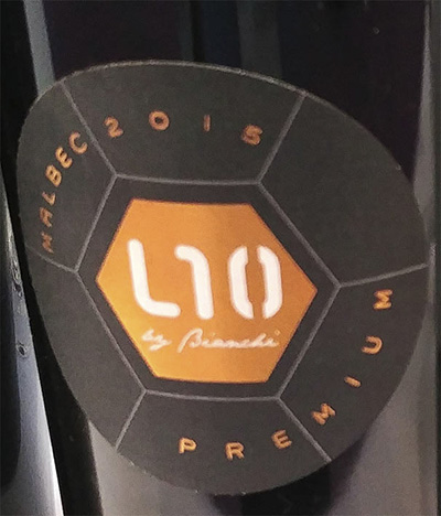 L10 Malbec by Bianchi Premium 2015 Красное сухое вино отзыв