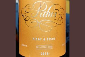 Pithos Pinot & Pinot 2018 Красное сухое вино отзыв