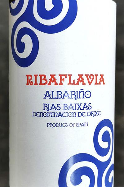 Ribaflavia Albarino Rias Baixas 2020 Белое сухое вино отзыв