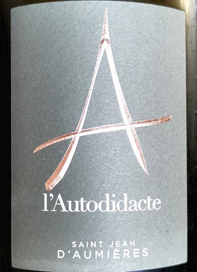 Saint Jean D'Aumieres l'Autodidacte 2019 Белое сухое вино Отзыв