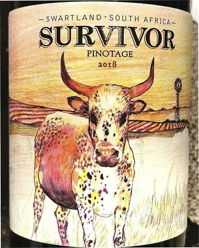 Survivor Pinotage Swartland 2018 Красное сухое вино отзыв