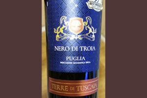 Terre di Tuscaia Nero di Troia Puglia 2019 Красное сухое вино отзыв