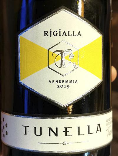 Tunella Rjgialla Vendemmia 2019 Белое сухое вино отзыв