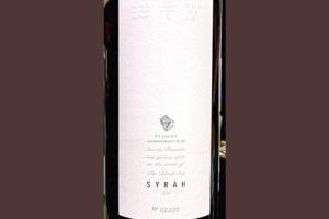 Усадьба Дивноморское Syrah 2018 Красное сухое вино отзыв