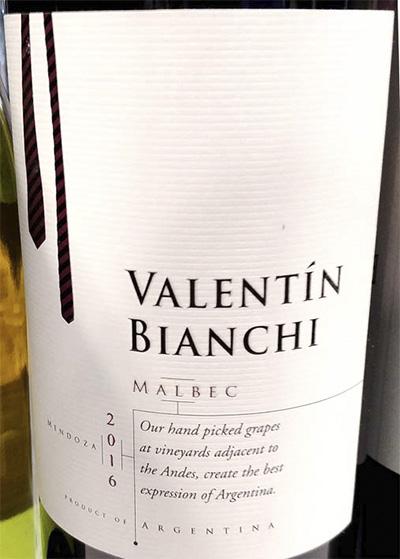 Valentin Bianchi Malbec Argentina 2016 Красное сухое вино отзыв