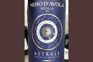 Astrale Nero d'Avola Sicilia 2020 Красное сухое вино отзыв
