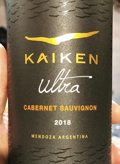 Kaiken Ultra Cabernet Sauvignon 2018 Красное сухое вино отзыв