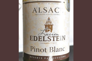 Lucien Edelstein Pinot Blanc Alsace Reserve Particuliere 2018 Белое сухое вино отзыв