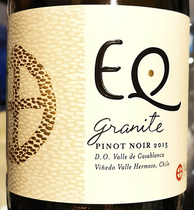 Matetic EQ Granite Pinot Noir 2015 Красное сухое вино отзыв