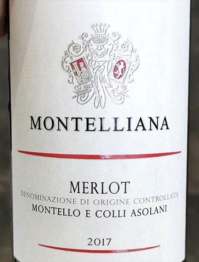 Montelliana Merlot Montello e Colli Asolani 2017 Красное сухое вино отзывMontelliana Merlot Montello e Colli Asolani 2017 Красное сухое вино отзыв