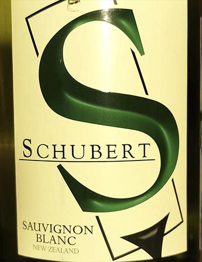 Schubert Sauvignon Blanc Selection New Zealand 2019 Белое сухое вино отзыв