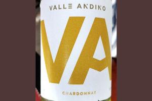 Valle Andino Chardonnay 2018 Белое сухое вино отзыв