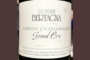 Domaine Bertagna Corton Charlemagne Chardonnay Grand Cru 2017 Белое сухое вино отзыв