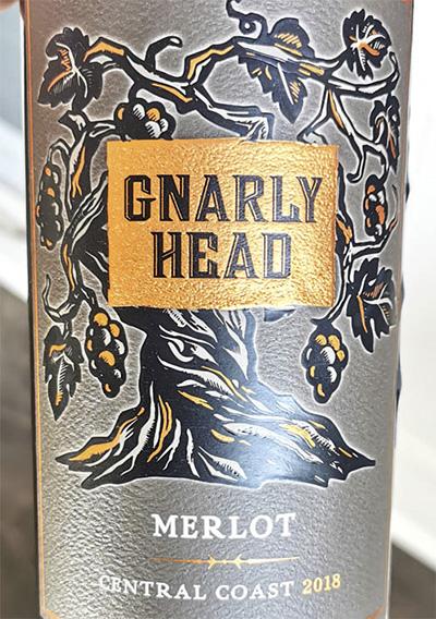 Gnarly Head Merlot Central Coast 2018 Красное сухое вино отзыв