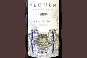 Pequen Merlot Valle Central 2017 Красное сухое вино отзыв