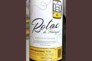 Rotas de Portugal Vinho Regional Tejo 2018 Красное сухое вино отзыв