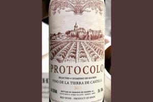 Dominio de Eguren Protocolo Selected tinto 2019 Красное сухое вино отзыв