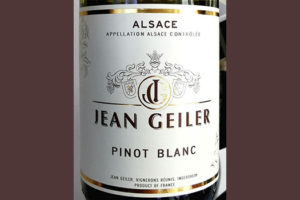 Jean Geiler Pinot Blanc Alsace 2019 Белое сухое вино отзыв