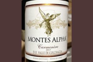 Montes Alpha Carmenere Valle de Colchagua 2017 Красное сухое вино отзыв