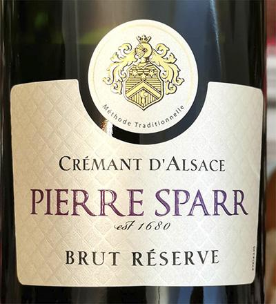 Pierre Sparr Cremant d'Alsace Brut Reserve 2018 Игристое белое брют Отзыв