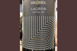 Vigna Haselhof 1309 Brigl Lagrein Alto Adige 2019 Красное сухое вино отзыв