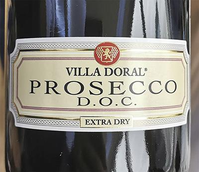 Villa Doral Prosecco DOC Extra Dry 2020 Игристое белое сухое Отзыв